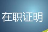 为某公司总经理提供在职证明翻译